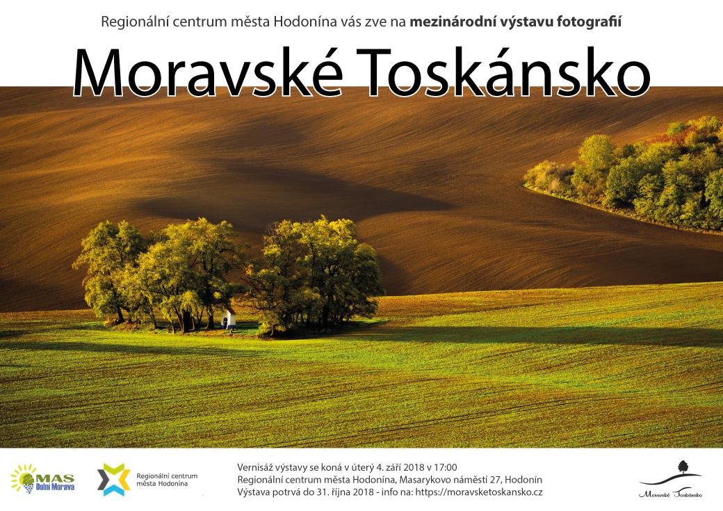 Výstava Moravské Toskánsko 2018- pozvánka navýstavu